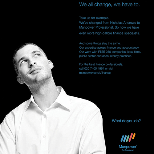 Manpower UK – Branding