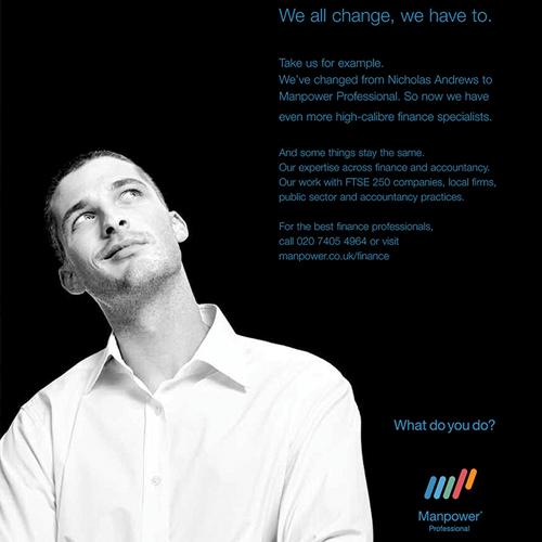 Manpower UK – Branding