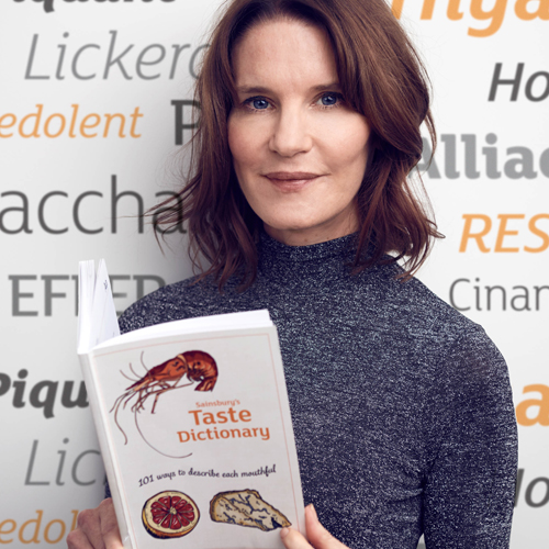 SAINSBURY'S – FOOD TRENDS TASTE DICTIONARY WITH SUSIE DENT